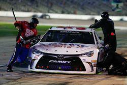 Reed Sorenson, Premium Motorsports Chevrolet, arrêt aux stands