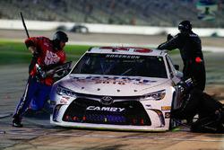 Reed Sorenson, Premium Motorsports Chevrolet, pit action