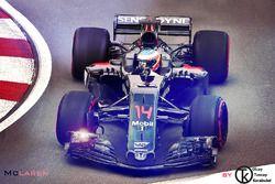 McLaren-Honda 2017 Fantezi Konsept Tasarım