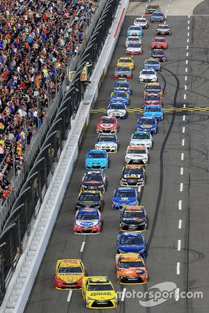 Matt Kenseth, Joe Gibbs Racing Toyota mène