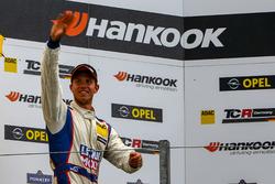 Podium: Mike Halder, Liqui Moly Team Engstler, SEAT Leon Cup Racer