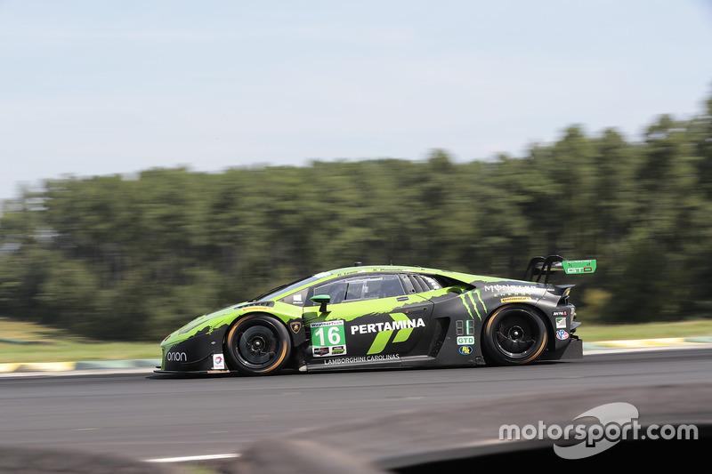 #16 Change Racing Lamborghini Huracan GT3: Spencer Pumpelly, Corey Lewis