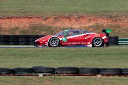 #63 Scuderia Corsa, Ferrari 488 GT3: Christina Nielsen, Alessandro Balzan