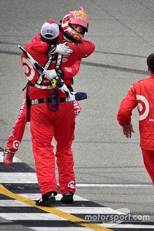 Racewinnaar Kyle Larson, Chip Ganassi Racing Chevrolet