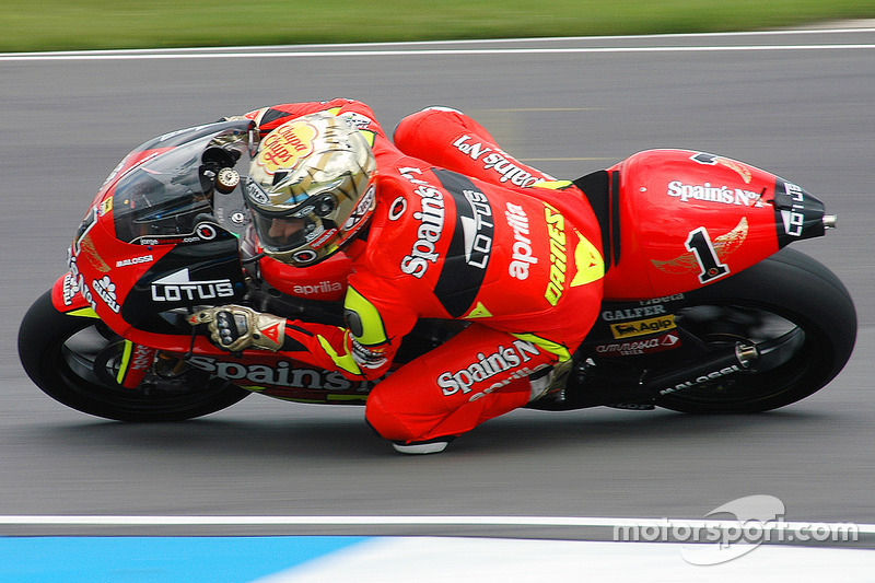 2007: 250cc (Moto2), Campeão - Jorge Lorenzo - Fortuna Aprilia