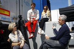 James Nash, Team Craft-Bamboo, Seat León TCR mit seiner Familie