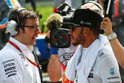 Lewis Hamilton, Mercedes AMG F1 Team on the grid