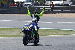Ganador, Valentino Rossi, Yamaha Factory Racing