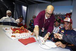 Kuchen zum 70. Geburtstag von Carmelo Ezpeleta, Dorna-Chef