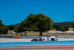 #555 Team Africa Le Mans Ginetta G55 GT4: Sarel van der Merwe, Greg Mills, Nick Adcock, Terry Wilfor