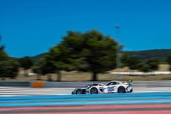 #555 Team Africa Le Mans, Ginetta G55 GT4: Sarel van der Merwe, Greg Mills, Nick Adcock, Terry Wilfo
