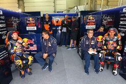 Brad Binder, Red Bull KTM Ajo en Bo Bendsneyder, Red Bull KTM Ajo