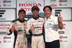 Sieger Joao Paulo de Oliveira, Team Impul; 3. Yuhi Sekiguchi, Team Impul; Kazuyoshi Hoshino, Team Im