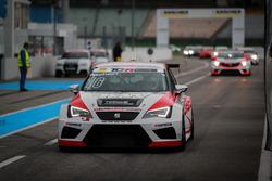 Hans Schori, TOPCAR Sport, SEAT Leon TCR