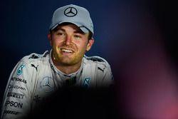 Nico Rosberg, Mercedes AMG F1 lors de la conférence de presse de la FIA