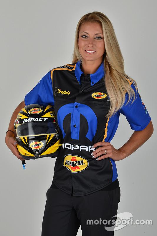 Leah Pritchett at Don Schumacher Racing announcement