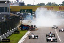 Akash Nandy, Jenzer Motorsport part en tonneaux