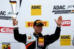 Podium: second place Joseph Mawson, Van Amersfoort Racing