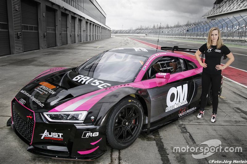 Mikaela Ahlin-Kottulinsky, Audi R8 LMS