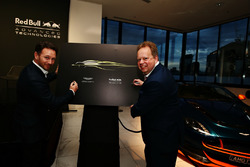 Andy Palmer, PDG d'Aston Martin et Christian Horner, Team principal Red Bull Racing