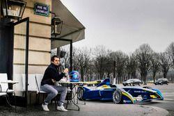 Nicolas Prost, e.dams Renault, caffè a Parigi