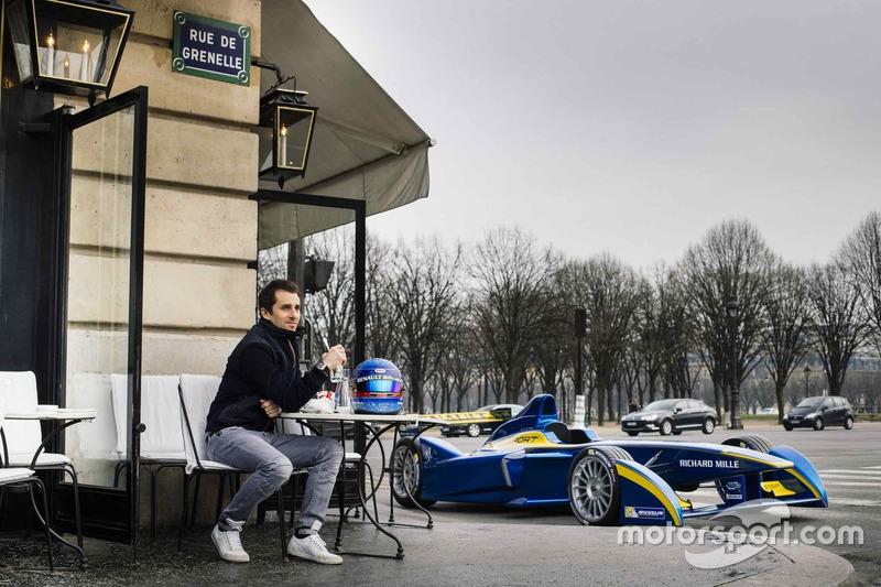 Nicolas Prost, e.dams Renault, café de París