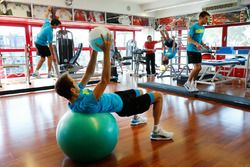 Bruno Spengler, Tom Blomqvist, Augusto Farfus and Marco Wittmann, Circuit Training