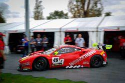 #49 DeFelice Homes, Ferrari 488 GT3: Andrea Montermini, Benny Simonsen