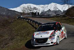 Alessandro Casella e Gaetano Caputo, Peugeot 208 R2B, CST Sport