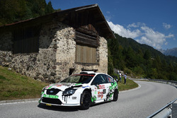 Paolo Porro, Nicola Arena, Ford Focus WRC, Bluthunder Racing Italy