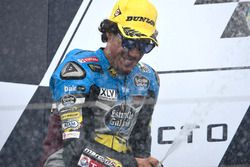 Podium: second place Franco Morbidelli, Marc VDS