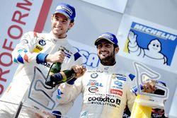 Podium: Ganador #2 BMW Team Teo Martin BMW M6 GT3: Gustavo Yacaman, Fernando Monje,