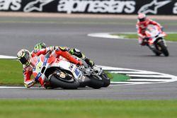 Choque de Andrea Iannone, Ducati Team