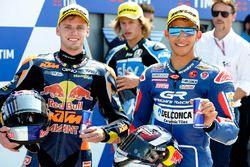 Polesitter Brad Binder, Red Bull KTM Ajo, Enea Bastianini, Gresini Racing Team Moto3