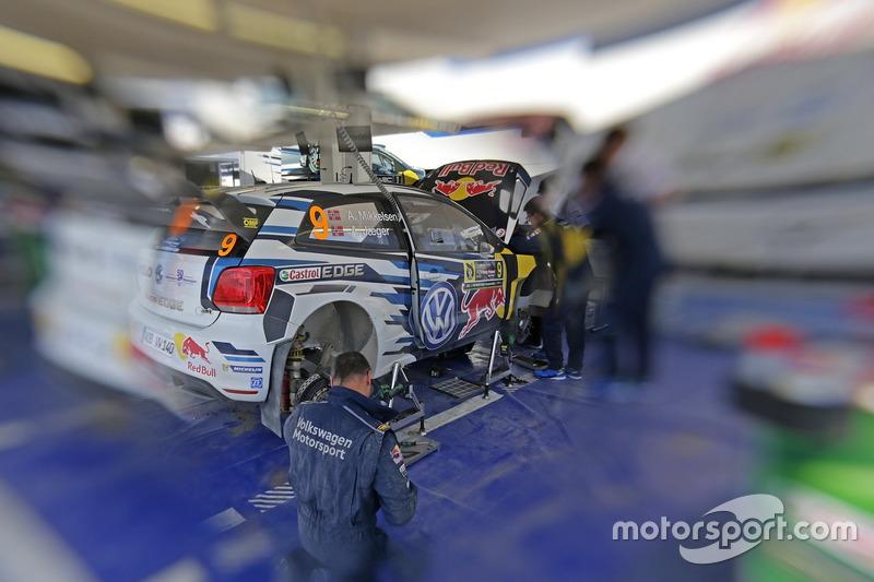Atmosfer, Andreas Mikkelsen, Anders Jäger, Volkswagen Polo WRC, Volkswagen Motorsport