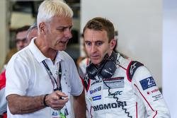 Matthias Müller, Chairman of the board Volkswagen AG, and #1 Porsche Team Porsche 919 Hybrid: Timo B