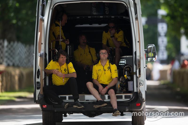 Renault Team F1 Mekanikerleri