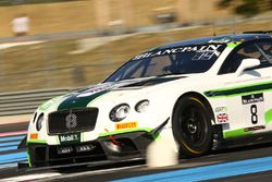 #8 Bentley Team M-Sport Bentley Continental GT3: Andy Soucek, Maxime Soulet, Wolfgang Reip