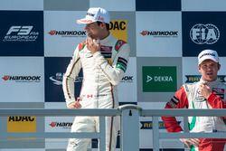 podium, Lance Stroll, Prema Powerteam Dallara F312 - Mercedes-Benz, Nick Cassidy, Prema Powerteam Dallara F312 - Mercedes-Benz