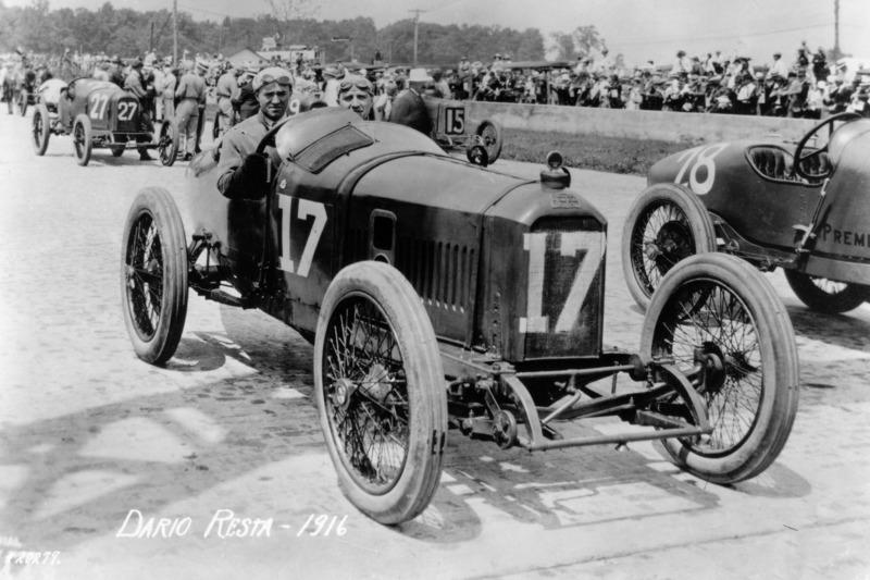 1916 - Dario Resta, Peugeot