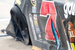 Crash von Regan Smith, Tommy Baldwin Racing
