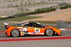 #44 Ferrari of Fort Lauderdale, Ferrari 458: Carlos Kauffmann
