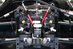 Détails de la suspension de la Mercedes AMG F1 Team W07