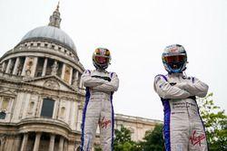 Jean-Eric Vergne und Sam Bird, DS Virgin Racing
