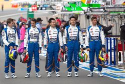 #36 Signatech Alpine A460: Gustavo Menezes, Stéphane Richelmi and #35 Baxi DC Racing Alpine A460 Nis