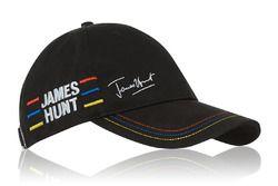 Gorra firma de James Hunt