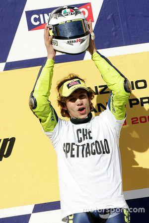 Championship winner Valentino Rossi