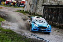 Elfyn Evans, Craig Parry, M-Sport Ford Fiesta R5