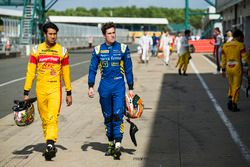 Sean Gelael, Campos Racing and Alex Lynn, DAMS