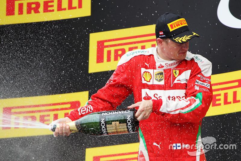 84e podium pour Räikkönen